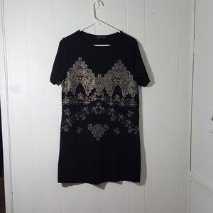 Zara Short Sleeve dress/Tunic